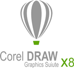 CorelDRAW X8 Graphics Suite logo